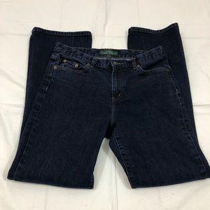 Lauren Ralph Lauren High Rise Jeans, Size 6, Boot
